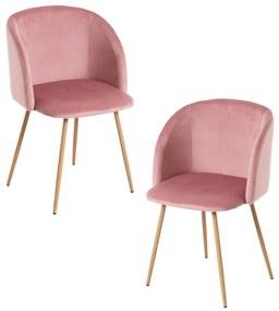 Pack 2 Cadeiras Velt Veludo