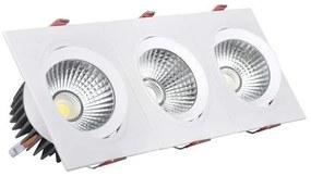 Foco Downlight LED Ledkia A+ 30 W 2700 lm (Branco Neutro 4000K - 4500K)