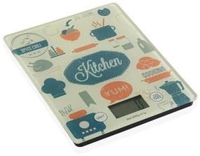 balança de cozinha Kitchen Cristal (20,5 x 1,9 x 16,5 cm)
