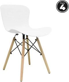 Pack 4 Cadeiras Klover