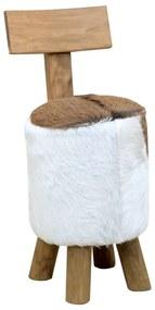 285206 vidaXL Banco madeira de teca maciça castanho