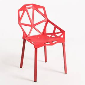Cadeira Omega Cor: Vermelho