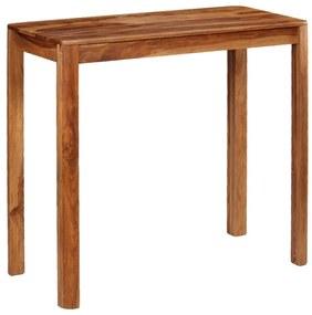 246259 vidaXL Mesa de bar em madeira de sheesham maciça 115x55x107 cm