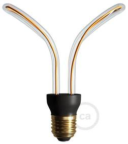 LED Art Butterfly Light Bulb 12W E27 Dimmable 2200K