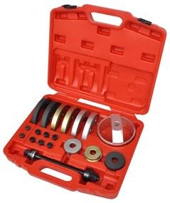 210342 vidaXL Conjunto 19 pç de rolamento cubo de roda compacta 62 mm, 66 mm, 72 mm