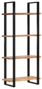 321062 vidaXL Estante c/ 4 prateleiras 80x40x180 cm madeira de acácia maciça