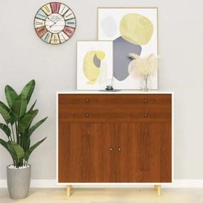 Autocolante para móveis 2 pcs 500x90 cm PVC cor carvalho claro