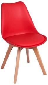 Cadeira Skagen Basic Cor: Vermelho