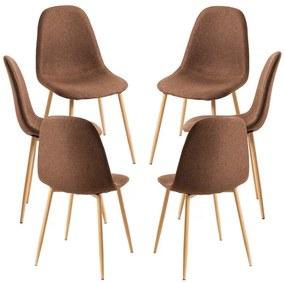 Pack 6 Cadeiras Teok Tecido
