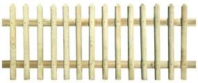 43365 vidaXL Cerca de estacas 170x100 cm 5/7 cm madeira de pinho impregnada