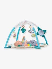 Parque de jogos evolutivo 3 em 1 da Infantino verde claro liso com motivo