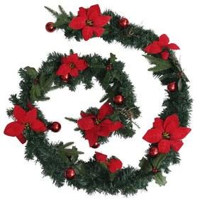 Decorações festivas VidaXL  Grinalda de Natal