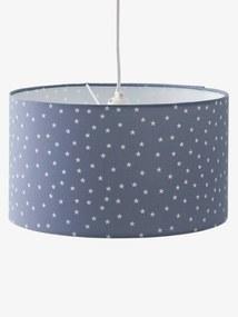 Abajur de teto, Estrelas azul escuro liso com motivo