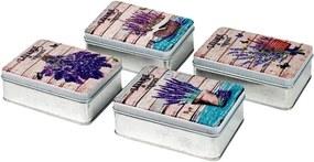 Malas, carrinhos de Arrumação Signes Grimalt  De Metal Caixa Lavender Em Setembro 4U
