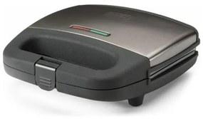 Sanduicheira Antiaderente Black & Decker BXSA750E 750W Aço inoxidável