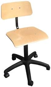 Cadeira Alta de Trabalho com Rodas SALLY-01 (cadeiras de Escritório / Estirador)