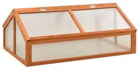 314852 vidaXL Estufa 120x80x50 cm madeira de abeto