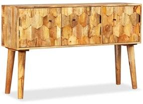 245135 vidaXL Aparador em madeira de mangueira maciça 118x35x75 cm