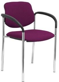 Cadeira de receção Villalgordo Piqueras y Crespo LI760CB Roxo
