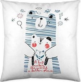 Capa de travesseiro Cool Kids Daddy Bear (50 x 50 cm)