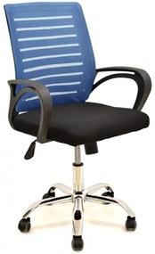 Cadeira Modem Cor: Azul e Preto