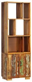 247480 vidaXL Estante 60x35x180 cm madeira recuperada maciça