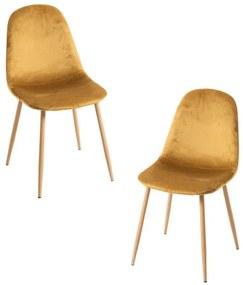 Pack 2 Cadeiras Teok Veludo