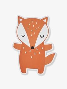 Aplique Raposa laranja claro liso com motivo