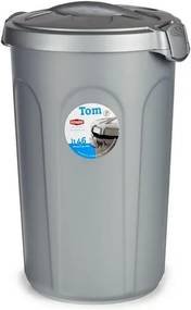 Balde de Lixo Plástico (44 x 60 x 40 cm)