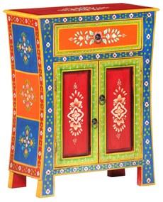 323539 vidaXL Aparador pintado à mão 60x30x75 cm madeira de mangueira maciça