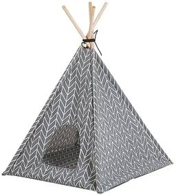 Cama para animal de estimação 60 x 60 cm cinzento ARPACIK