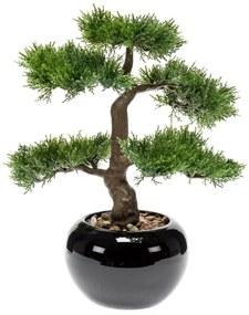 414504 Emerald Bonsai cedro artificial 34 cm verde 420003