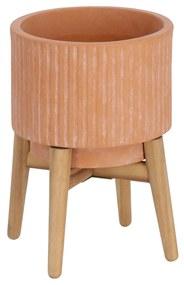 Kave Home - Vaso Elima de terracota de Ø 19,5 cm