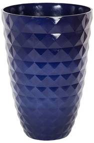 Vaso decorativo para plantas ⌀ 42 cm azul marinho FERIZA