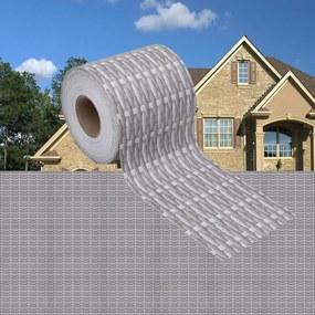 147854 vidaXL Painéis privacidade p/ jardim 4 pcs 35x0,19 m PVC vime cinzento