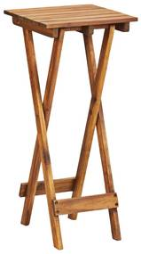 46559 vidaXL Suporte para plantas 30x30x67 cm madeira de acácia maciça