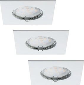 Paulmann 92760 - CONJUNTO 3xLED/6,8W Luz encastrada de casa de banho COIN 230V IP44