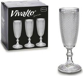 Taça Transparente Cristal (7 x 20 x 7 cm)