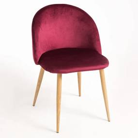 Cadeira Vint Veludo