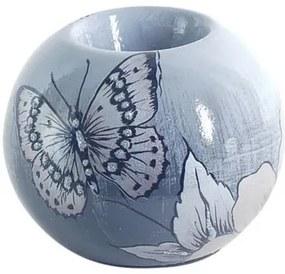 Castiçais e Porta-Velas Signes Grimalt  T-Lite Flower-Butterfly