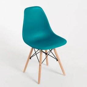 Cadeira Oslo Cor: Azul Petróleo