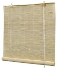 Cortinados VidaXL  Estore de bambu 120 x 220 cm
