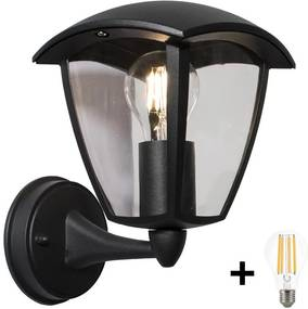 Brilagi - Iluminação de parede exterior LED LUNA 1xE27/10W/230V IP44