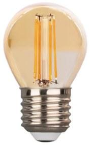 Lâmpada E27 LED 4W G45 Filamento 2700K 440lm