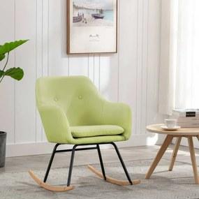 Cadeira de Baloiço Tecido Verde