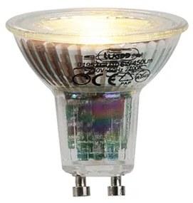 Lâmpada LED GU10 6W 450 lúmen 2700K regulável