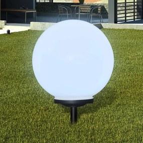 40866 vidaXL Bolas solares com pico-de-chão /  peça, 40 cm