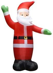 Decorações festivas VidaXL  Pai Natal insuflável 450 cm