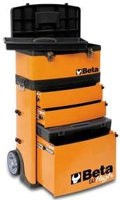 406997 Beta Tools Caixa ferramentas + rodas C41H/O laranja 041000002