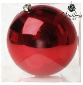 Bola de Natal 7407 20 cm Vermelho